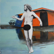 003.+Figure+with+Tent,+Oil+on+Linen,+950m+x+900mm