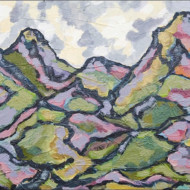 008.+Mountains+of+the+Cape,+Acrylic+on+Canvas,+300mm+x+400mm
