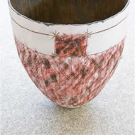 008.+Stoneware+Bowl+3,+Height+420mm