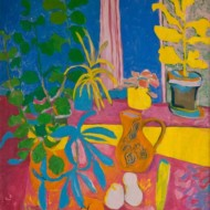 024.+Still+Life-+Homage+to+Henri+Matisse,+900mm+x+750mm,+Oil+on+Canvas