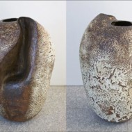 035_+Pot+1+&+2,+Stoneware,+Height+700mm
