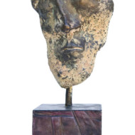 Bart,+Bronze+Sculpture,+Height+210+mm