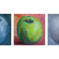 Compare+Apples+with+Apples,+200mm+x+1+060mm,+Acrylic+on+Board
