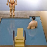 The+Pool+3,+Wood_Enamel+Sculpture,+840mm+x+445mm+x+230mm
